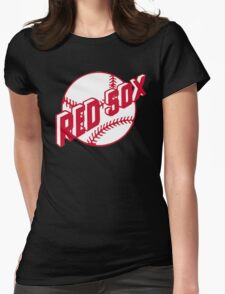Boston Red Sox Old Logo Womens Fitted T-Shirt