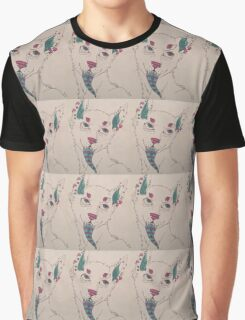 Abstract Cartoon Wolf - Graphic T-Shirt