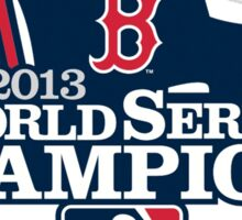 Boston Red Sox 2013 World Series Champions Sticker