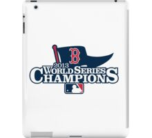 Boston Red Sox 2013 World Series Champions iPad Case/Skin