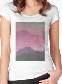 Sunset Sunrise Women's Fitted Scoop T-Shirt