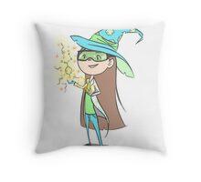 Chemistry Wizard Throw Pillow