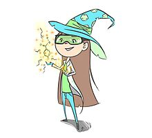 Chemistry Wizard Photographic Print
