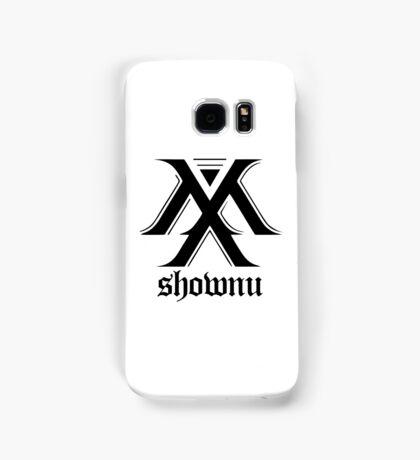 Monsta X logo + Shownu Samsung Galaxy Case/Skin