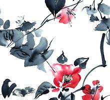 Blossom tree by Tarakanova