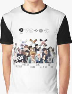 EXO - Collage Graphic T-Shirt