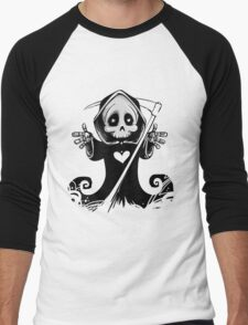 Grim Reaper Men's Baseball ¾ T-Shirt