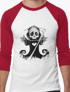 Grim Reaper Men's Baseball ¾ T-Shirt