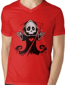 Grim Reaper Mens V-Neck T-Shirt