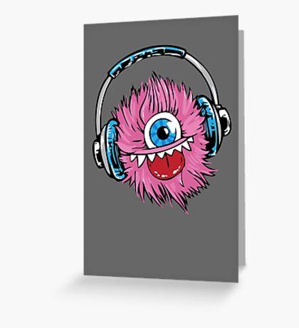 Monster  Greeting Card
