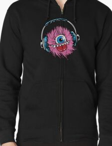 Monster  Zipped Hoodie