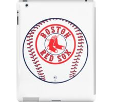 Boston Red Sox With Balls iPad Case/Skin