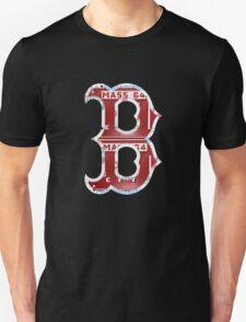 Boston Red Sox Typograph Unisex T-Shirt
