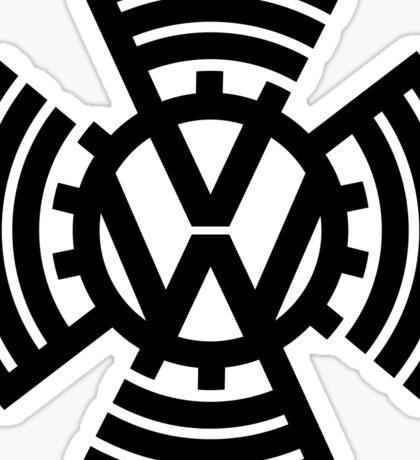 VW Sunwheel Logo Sticker