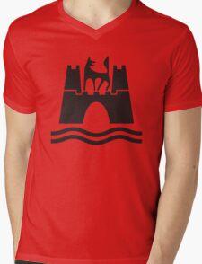 Wolfsburg Logo Mens V-Neck T-Shirt