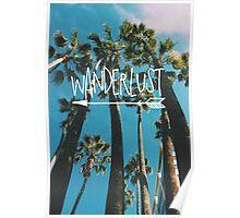 Wanderlust Palm Poster