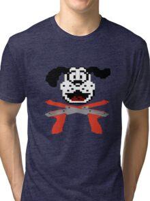Duck hunt Cross Bones Tri-blend T-Shirt