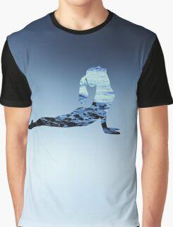 Yoga - Upward Dog  Graphic T-Shirt