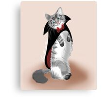 Vampire Cat Canvas Print