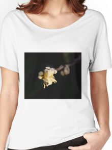 Frost on Shrubby Honeysuckle Women's Relaxed Fit T-Shirt