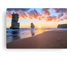 12 Apostles with Marshmallow Skies Canvas Print