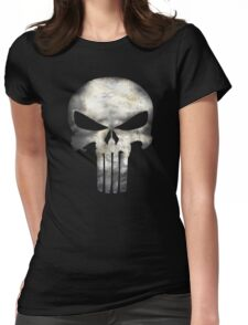 I am only in a jeep punisher Womens Fitted T-Shirt