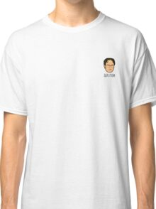 Dwight Schrute Mini Head - 'Question' Classic T-Shirt