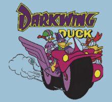 Darkwing Duck Motorcycle Kids Tee