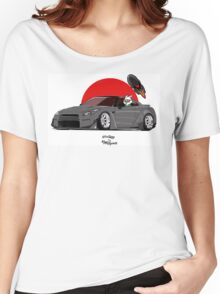 RocketBunny GTR with rocket and bunny Women's Relaxed Fit T-Shirt