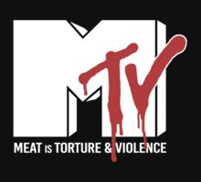 Meat is Torture and Murder by Herbivoracle