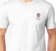 Kip Dynamite Mini Head - College Unisex T-Shirt