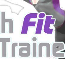 Wah Fit Trainer Sticker