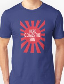 Here comes the sun funny nerd geek geeky T-Shirt