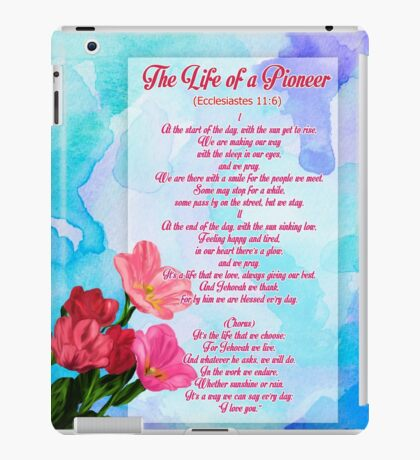 Life of a Pioneer II iPad Case/Skin