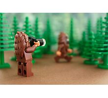 Bigfoot Sighting! Photographic Print