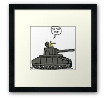 To The Pub! Framed Print