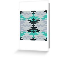 American  Native Art No. 28 Greeting Card