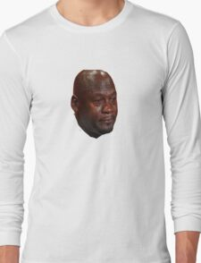 Jordan Crying Long Sleeve T-Shirt