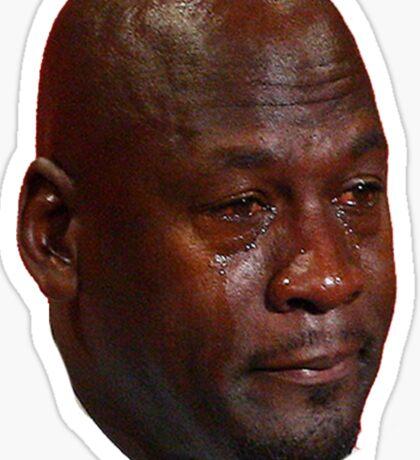 Jordan Crying Sticker