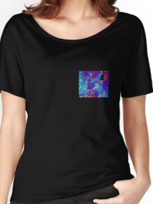 Purples and Blues Women's Relaxed Fit T-Shirt