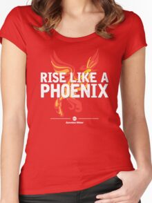 Conchita Wurst - Rise Like A Phoenix [Eurovision Winner] Women's Fitted Scoop T-Shirt