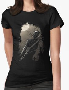 Midnight Rock Womens Fitted T-Shirt