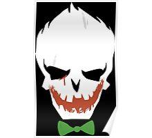Joker Face Suicide Squad Poster