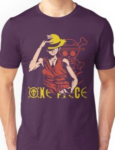 One Piece Monkey D. Luffy, Vector Anime Unisex T-Shirt