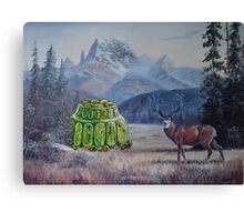 Boreal Jello Mold with Buck Canvas Print