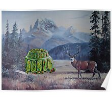 Boreal Jello Mold with Buck Poster
