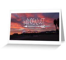 Wanderlust Sunset II Greeting Card