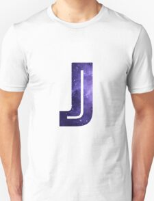 The Letter J - Space T-Shirt