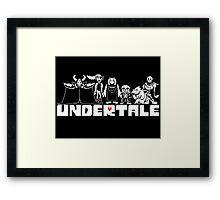Undertale Framed Print