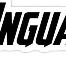 Captain America - Language Sticker